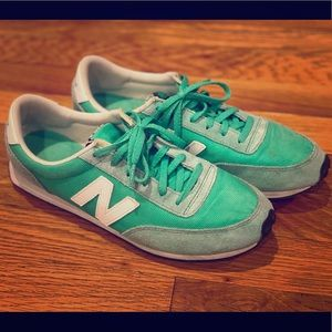 New Balance 410 Sneakers- Green